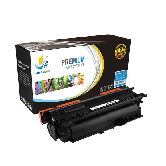 Catch Supplies Replacement HP CF031A Standard Yield Toner Cartridge