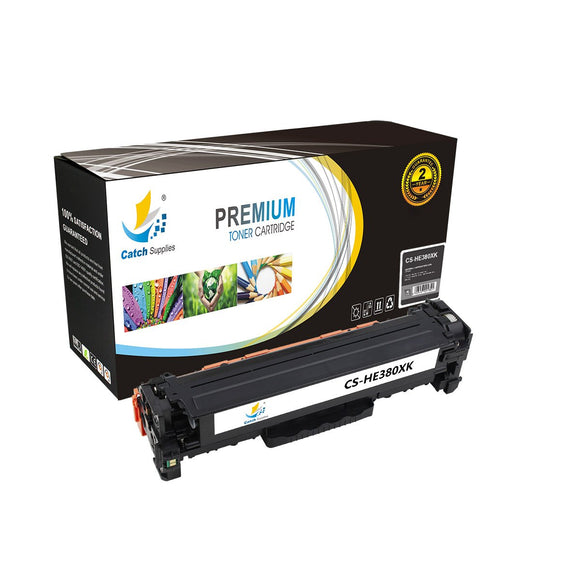 Catch Supplies Replacement HP CF380X High Yield Toner Cartridge