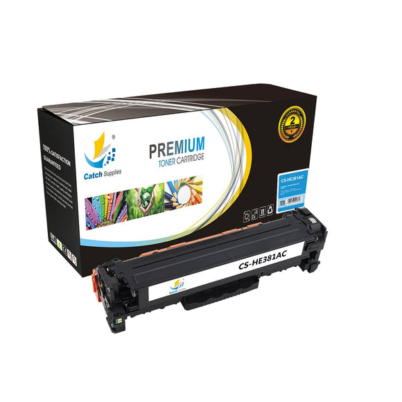 Catch Supplies Replacement HP CF381A Standard Yield Toner Cartridge
