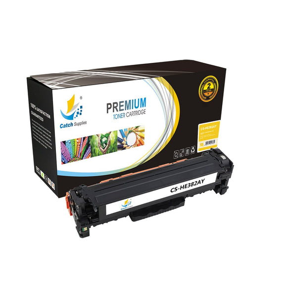 Catch Supplies Replacement HP CF382A Standard Yield Toner Cartridge