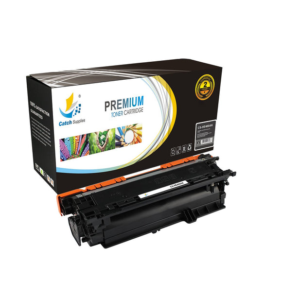 Catch Supplies Replacement CE400A – 507A Black Toner Cartridge