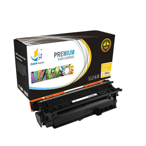 Catch Supplies Replacement CE402A – 507A Yellow Toner Cartridge