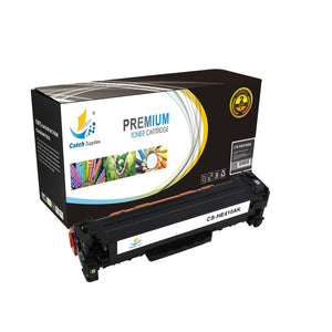Catch Supplies Replacement HP CE410A Standard Yield Toner Cartridge