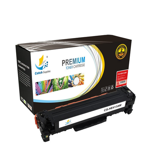 Catch Supplies Replacement HP CE413A Standard Yield Toner Cartridge