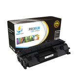 Catch Supplies Replacement HP CE505A Standard Yield Laser Printer Toner Cartridges - Two Pack