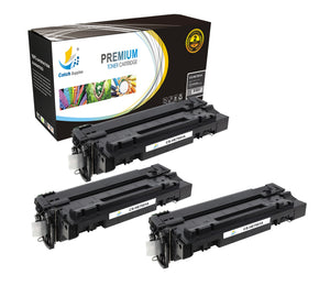 Catch Supplies Replacement Q7551A Black Toner Cartridge 3 Pack