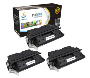 Catch Supplies Replacement C8061X Black Toner Cartridge 3 Pack