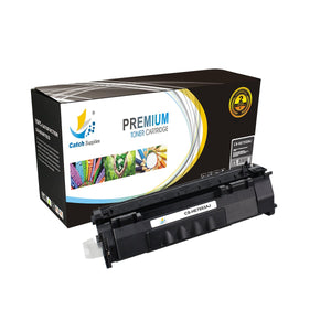 Catch Supplies JUMBO Yield Replacement Q7553A Black Toner Cartridge