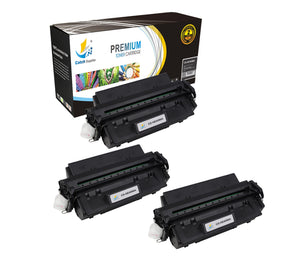 Catch Supplies Replacement C4096A Black Toner Cartridge 3 Pack