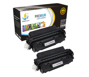 Catch Supplies Replacement HP C4096X Standard Yield Laser Printer Toner Cartridges - Two Pack