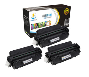 Catch Supplies Replacement HP C4096X Standard Yield Laser Printer Toner Cartridges - Three Pack