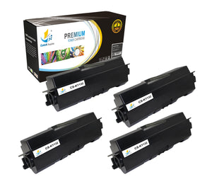 Catch Supplies Replacement Kyocera TK-132 Standard Yield Laser Printer Toner Cartridges - Four Pack