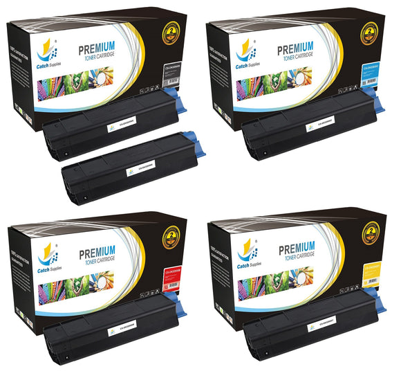 Catch Supplies Replacement C3200 Toner Cartridge 5 Pack Set