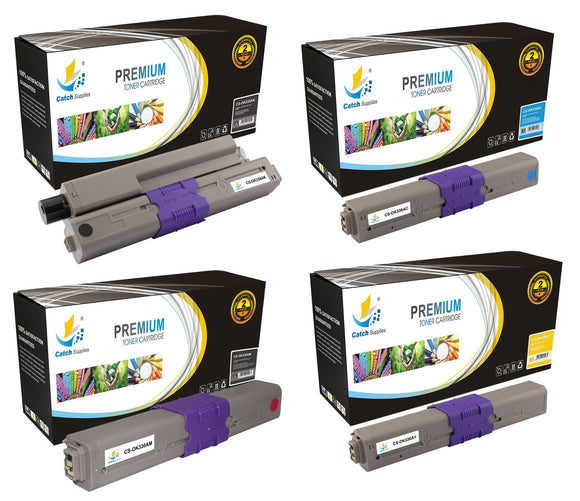 Catch Supplies Replacement C330 Toner Cartridge 4 Pack Set