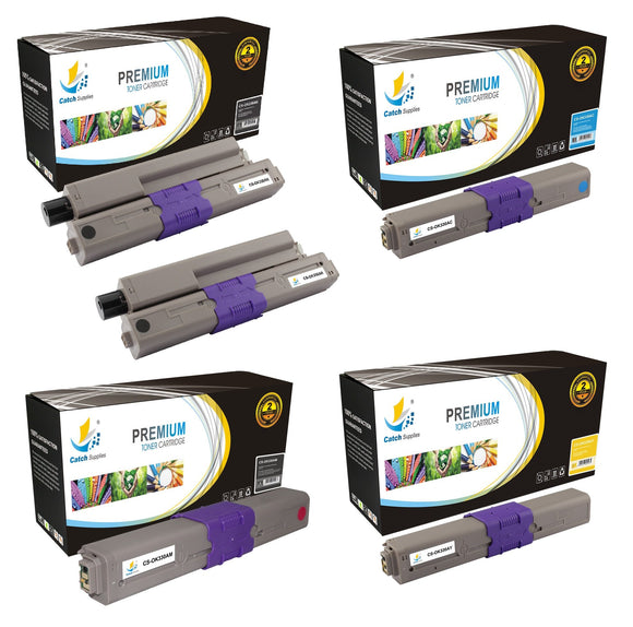 Catch Supplies Replacement C330 Toner Cartridge 5 Pack Set