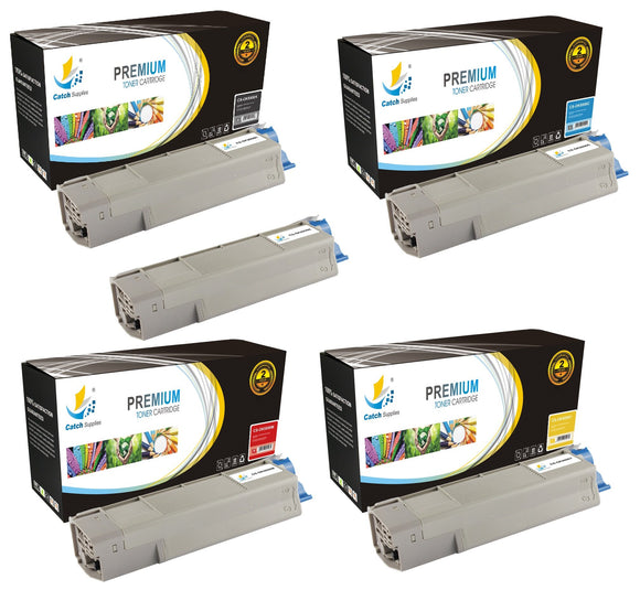 Catch Supplies Replacement C5550 Toner Cartridge 5 Pack Set