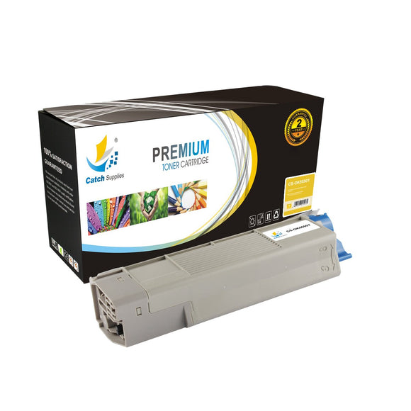 Catch Supplies Replacement C5550Y Yellow Toner Cartridge