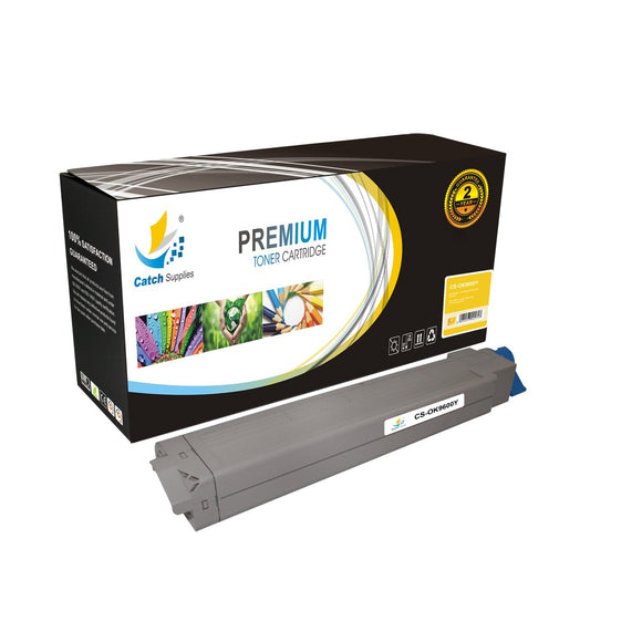 Catch Supplies Replacement C9600Y Yellow Toner Cartridge