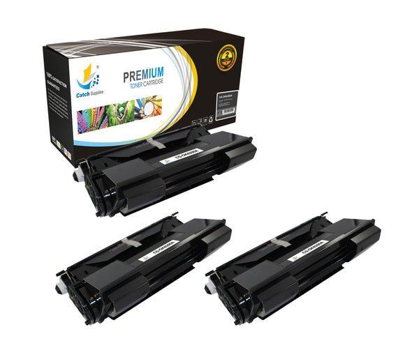Catch Supplies Replacement B6200 Black Toner Cartridge 3 Pack