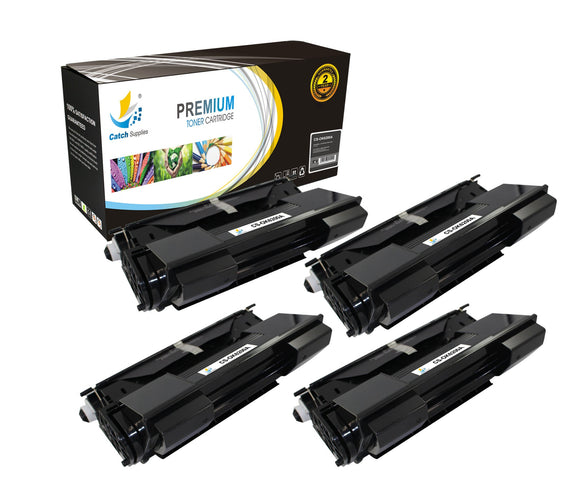 Catch Supplies Replacement B6200 Black Toner Cartridge 4 Pack