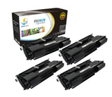 Catch Supplies Replacement Okidata 52114501 Standard Yield Laser Printer Toner Cartridges - Four Pack