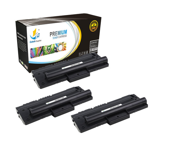 Catch Supplies Replacement Samsung ML-1710D3 Standard Yield Laser Printer Toner Cartridges - Three Pack