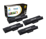 Catch Supplies Replacement Samsung ML-1710D3 Standard Yield Laser Printer Toner Cartridges - Four Pack