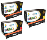 Catch Supplies Replacement Samsung CLT-C504S,CLT-M504S,CLT-Y504S Standard Yield Laser Printer Toner Cartridges - Three Pack