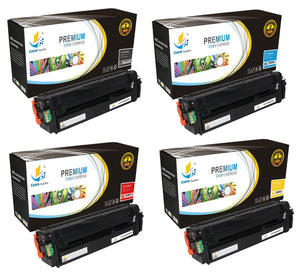Catch Supplies Replacement Samsung CLT-K505L,CLT-C505L,CLT-M505L,CLT-Y505L High Yield Toner Cartridges Laser Printer Toner Cartridges - Four Pack