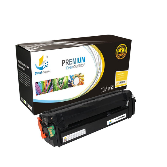 Catch Supplies Replacement CLT-505L Yellow Toner Cartridge