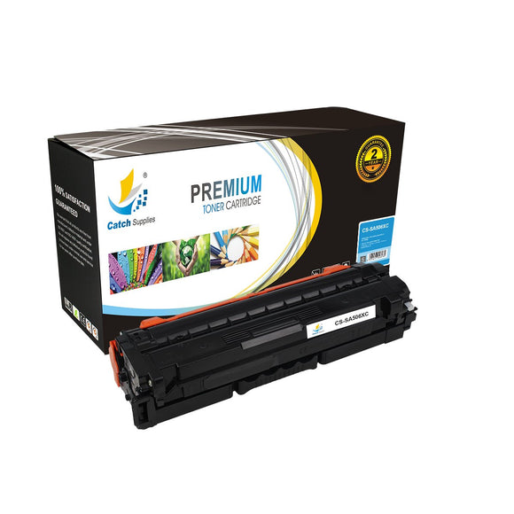Catch Supplies Replacement Samsung CLT-C506L Standard Yield Toner Cartridge