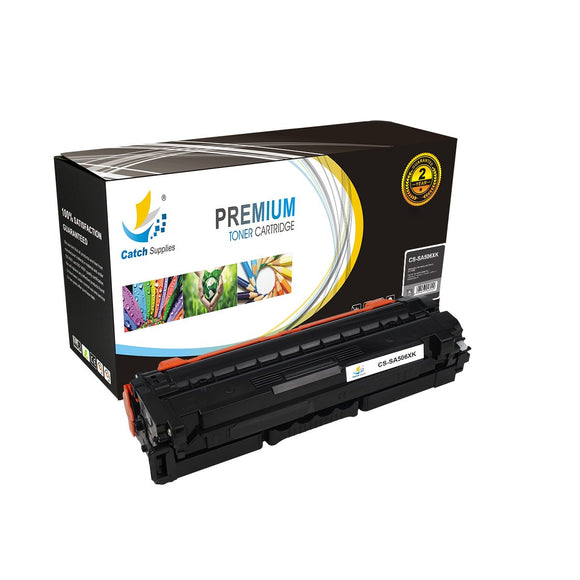 Catch Supplies Replacement Samsung CLT-K506L Standard Yield Toner Cartridge