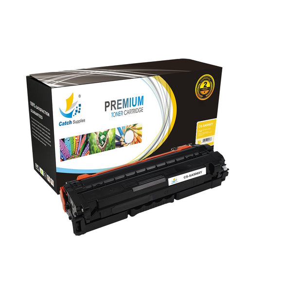 Catch Supplies Replacement CLT-506L Yellow Toner Cartridge