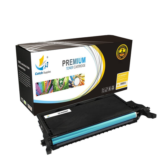 Catch Supplies Replacement CLT-508L Yellow Toner Cartridge