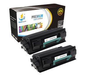 Catch Supplies Replacement Samsung MLT-D203E High Yield Black Toner Cartridge Laser Printer Toner Cartridges - Two Pack