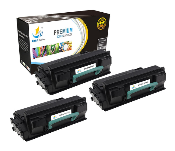 Catch Supplies Replacement Samsung MLT-D203E High Yield Black Toner Cartridge Laser Printer Toner Cartridges - Three Pack