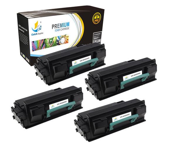 Catch Supplies Replacement Samsung MLT-D203E High Yield Black Toner Cartridge Laser Printer Toner Cartridges - Four Pack