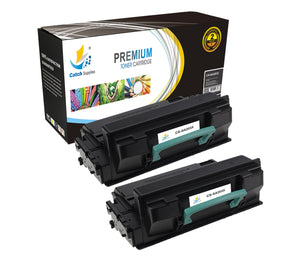 Catch Supplies Replacement Samsung MLT-D203L High Yield Black Toner Cartridge Laser Printer Toner Cartridges - Two Pack
