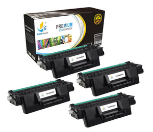 Catch Supplies Replacement Samsung MLT-D205L High Yield Black Toner Cartridge Laser Printer Toner Cartridges - Four Pack