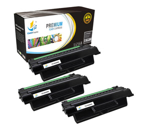 Catch Supplies Replacement Samsung MLT-D206L High Yield Black Toner Cartridge Laser Printer Toner Cartridges - Three Pack