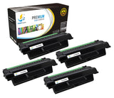Catch Supplies Replacement Samsung MLT-D206L High Yield Black Toner Cartridge Laser Printer Toner Cartridges - Four Pack