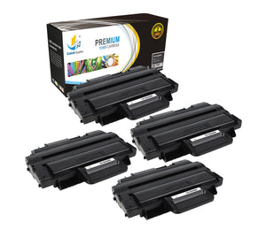 Catch Supplies Replacement Samsung MLT-D209L High Yield Black Toner Cartridge Laser Printer Toner Cartridges - Four Pack