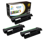 Catch Supplies Replacement Samsung SCX-D5530B Standard Yield Laser Printer Toner Cartridges - Three Pack
