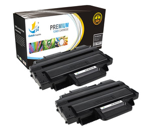 Catch Supplies Replacement Xerox 106R01486 High Yield Black Toner Cartridge Laser Printer Toner Cartridges - Two Pack
