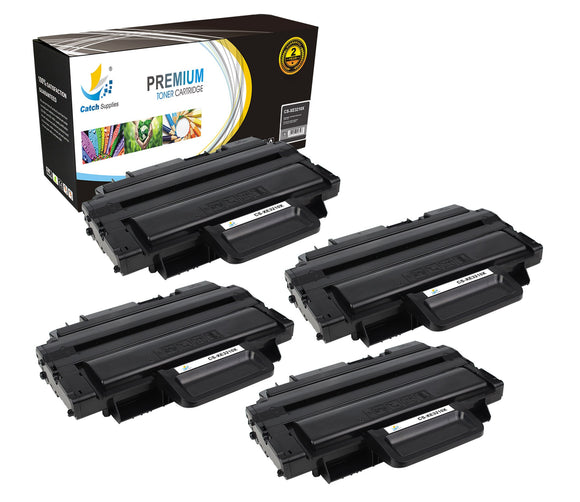 Catch Supplies Replacement Xerox 106R01486 High Yield Black Toner Cartridge Laser Printer Toner Cartridges - Four Pack