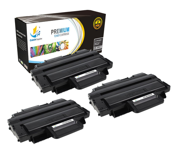 Catch Supplies Replacement 3250 ( 106R01374 ) Black Toner Cartridge 3 Pack