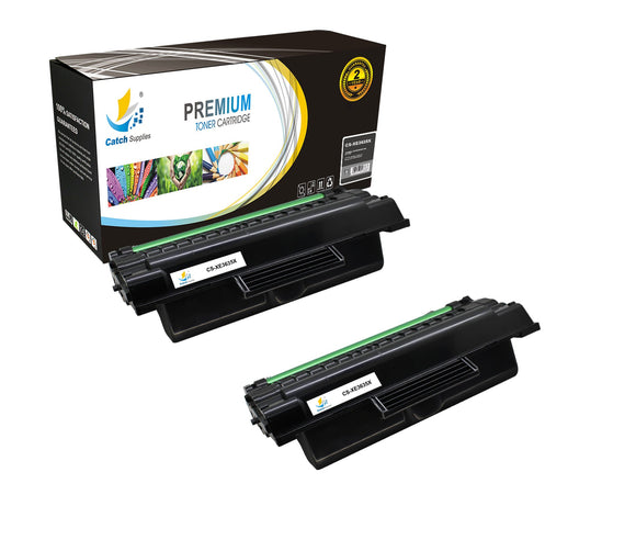 Catch Supplies Replacement 3635 ( 108R00795 ) Black Toner Cartridge 2 Pack
