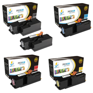Catch Supplies Replacement Xerox 106R01630,106R01627,106R01628,106R01629 Standard Yield Laser Printer Toner Cartridges - Five Pack