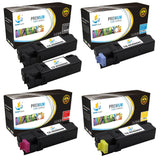 Catch Supplies Replacement Xerox 106R01597,106R01594,106R01595,106R01596 Standard Yield Laser Printer Toner Cartridges - Five Pack