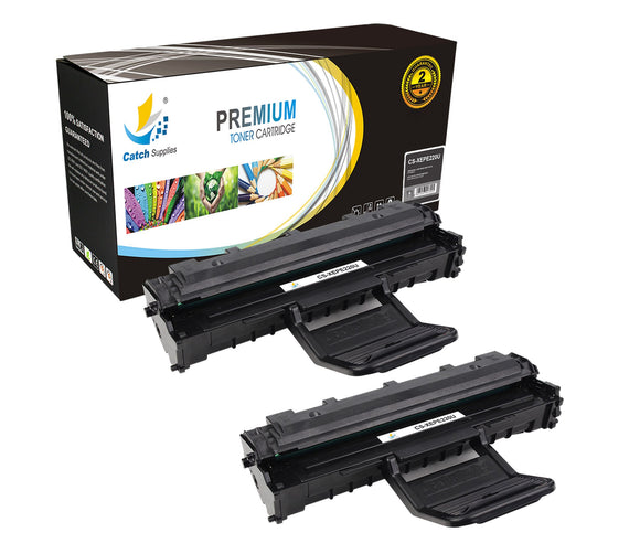 Catch Supplies Replacement PE220 ( 013R00621 ) Black Toner Cartridge 2 Pack